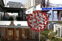 Pacientů s koronavirem přibývá. Pražské nemocnice evidují nakažené zdravotníky: Hrozí komplikace?