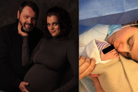 Ornella Koktová porodila syna! Po Quentinovi opět zvolila zvláštní jméno