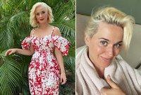 Upřímná Katy Perry odtajnila »nahou« tvář! Ze sexbomby domácí puťkou?