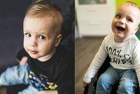 Malý Adámek trpí obávanou spinální svalovou atrofií: Sbírku pro něj podpořili i rodiče Maxíka