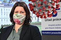 Lidí bez práce v Česku v dubnu ubylo. Maláčová chválí Antivirus, zmínila i mezery