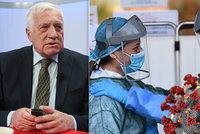 ŽIVĚ: Klaus pro Blesk o koronaviru, vládních opatřeních a zavřených hranicích