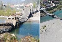 V Itálii se zřítil velký a frekventovaný most! Řidiči skončili v nemocnici