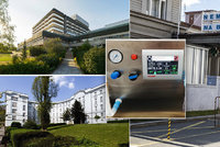 Tři pražské nemocnice dostanou darem přes sedm milionů na boj skoronavirem