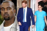 Šílený trapas Meghan a Harryho: Kanye West drsně zesměšnil jejich nový projekt!