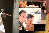 Roberta a Toničku přepadl doma feťák: Před dětmi je zbil kamenem