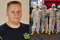 Hasič Richard (44) bojoval s koronavirem v zamořeném domově důchodců: Bez dobrovolníků bychom nestíhali!