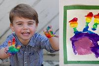 Kate a William zveřejnili nové fotky synáčka: Malý Louis oslaví druhé narozeniny
