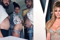 Topmodelka Heidi Klumová (47): Necelý rok po svatbě se chlubí bříškem?!
