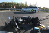 Tragická smrt motorkáře na Semilsku: Muž zemřel po kolizi s autem