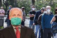 Koronavirus ONLINE: 281 mrtvých v ČR. Prymula promluvil o sundání roušek i dovolené Čechů