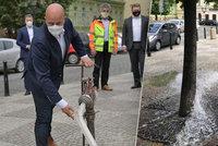 Podzemní voda už nepoteče do kanalizace! Praha s ní začne zalévat a kropit silnice