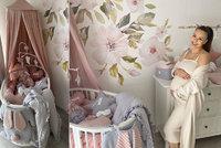 Těhotná Bagárová už má připravený pokojíček: Moderní barvy s vůní třešní!