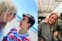 Jak reagoval syn (14) Venduly Pizingerové na její těhotenství? Musela se tomu smát!