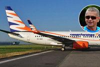 """Podíl ve Smartwings za """"kačku"""", nabízí Číňané. Aerolinky ale chtějí státní záruky"""