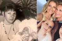 Den matek slavných: Vojtek jako miminku, Kerndlová na svatbě i těhotná Bagárová přejí maminkám