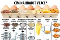 Chcete péct a došla vejce, kypřicí prášek nebo mouka? Co použít místo nich?