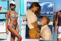 Italský miliardář a dýdžej se raduje: V 52 letech opět tátou! Dítě čeká s krásnou modelkou (25)
