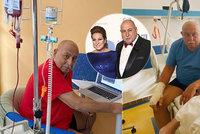 Záběry Hryce bojujícího s akutní leukemií: Ve špitále jen leží, ale přesto hubne!
