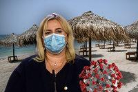 Koronavirus ONLINE: 295 mrtvých v ČR. Za úlevu pro cestovky klepla EU Dostálovou přes prsty