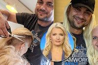 Dojemné FOTO hvězdy zpravodajství bojující s rakovinou: Už není blond! Manžel ji oholil