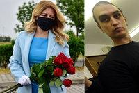 """Čaputová (46) ukázala nového """"prvního frajera"""". Muzikanta vyměnila za culíkatého rebela"""