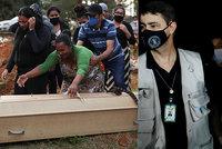 """""""Vrahu!"""" pokřikovali lidé na prezidenta. Bolsonaro si užívá grilovačky, lidé umírají"""