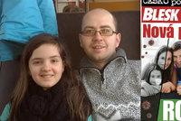 Pendler Radek J. se sám stará o neslyšící dceru: Kvůli krizi jsme bez peněz a bez pomoci!