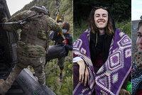 Turisté 13 dní bloudili divočinou na Novém Zélandu: Měli větší štěstí než Čech Ondřej (†27)