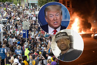 Smrt muže, který zemřel při zatýkání policie, vyvolala násilné protesty: Trump prošetřením případu pověřil FBI