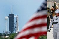 Muskova raketa s posádkou chystá druhý pokus: Je to 50 na 50, bojí se počasí NASA