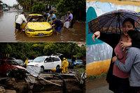 Na koronavirem zbídačené země udeřila bouře: Amanda zabila 14 lidí, tisíce jsou bez domova