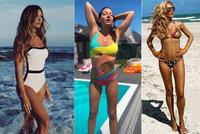 Léto je tady! 8 českých krásek se svléklo do plavek
