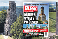 Nejlepší výlety po Česku: 111 nejkrásnějších rozhleden a k tomu spoustu slev v bedekru Blesku!