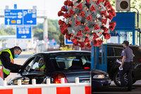 Koronavirus ONLINE: Německo přivírá ČR hranice. A bonus ke karanténě prošel Sněmovnou