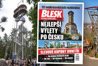 Poznejte s Bleskem 111 našich nejkrásnějších rozhleden: Když je Česko jako na dlani!