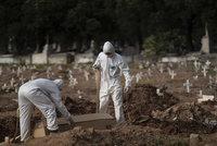 Koronavirus ONLINE: 6881 vyléčených v ČR. Čísla z Brazílie děsí celý svět