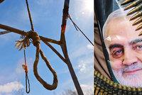 Tvrdý trest za smrt generála: Írán popraví špiona, který prozradil Američanům úkryt