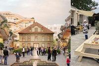 Vnitroblok v paláci Savarin ožívá. Oáza klidu v centru Prahy láká na občerstvení a barokní zahradu