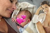 Odpočinek novopečené maminky Šeredové (42): Proč začala dcerušku schovávat?