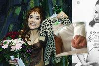 Kráska z Tarzana Korolová porodila! Miminko tajila 5 dní, jaké vybrala dítěti jméno?