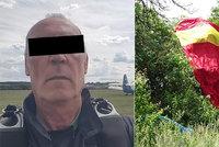 Výsadkář Olda zemřel u Hořovic: Neotevřel se mu padák!