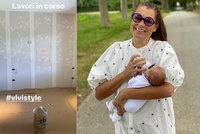 Alena Šeredová (42) připravuje pokoj malé Vivinky: Jemnost pro dceru miliardáře!