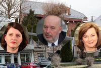 Takhle bydlí ministři: Realitní magnáti Babiš a Toman, bytovka Maláčové či dům Schillerové