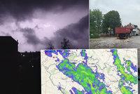 Na Česko udeří bouřky s lijáky. A znovu hrozí i povodně, sledujte radar Blesku