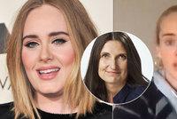 Strhaný vzhled hubené Adele (32): Nepřirozená dieta, kila se vrátí, varuje odbornice