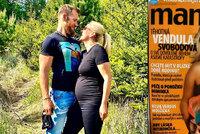 Těhotenství Venduly Pizingerové (48) před 15 lety a teď! Jaké měla bříško, když čekala Jakuba?