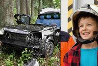 Malý velký hrdina Adam (8): Po těžké nehodě se dostal z auta a zachránil kamaráda i jeho mámu