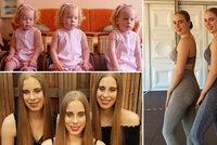 Identická trojčata jsou i v dospělosti nerozlučná: Stejné oblečení, stejná práce i společné zájmy!