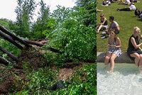 Silné bouřky se ženou na Česko. O víkendu bude až 30 °C, sledujte radar Blesku